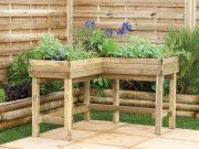Corner table planter. Picture; Forest Garden