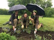 Join in planting at Orchard Cottage for Dementia Awareness Week. Picture; Beamish Museumn