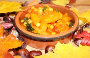 Carrot, Chickpea & Kale Moroccan-Style Stew. Picture; Burpee Europe