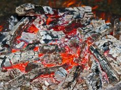 Ash in a fire pit - where do you dispose of yours?
